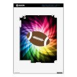 Fútbol colorido iPad 3 skin