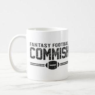 Fútbol Commish de la fantasía Tazas