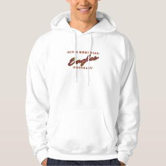 Fútbol conmemorativo cívico suéter con capucha