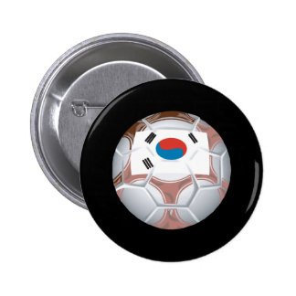 Fútbol coreano pins