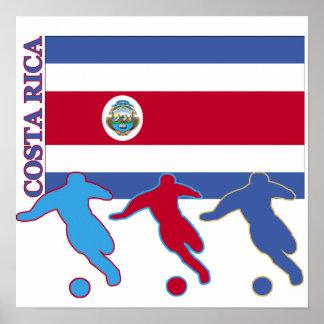 Fútbol Costa Rica Póster