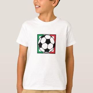 futbol. cuadrado de Italia Camisas