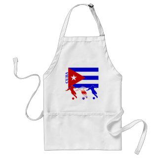 Fútbol Cuba Delantal