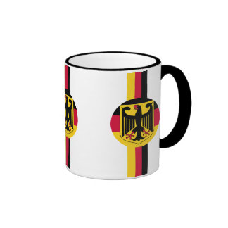 Fútbol de Alemania Deutschland Fußball Taza A Dos Colores