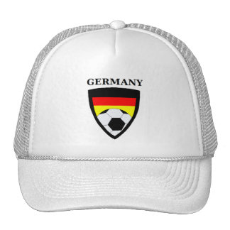 Fútbol de Alemania Gorras