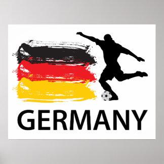 Fútbol de Alemania Impresiones