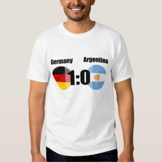 Fútbol de Alemania la Argentina Poleras