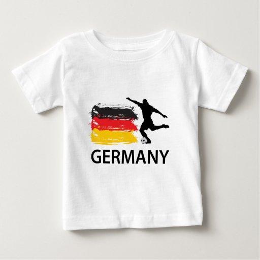 Fútbol de Alemania Playera De Bebé