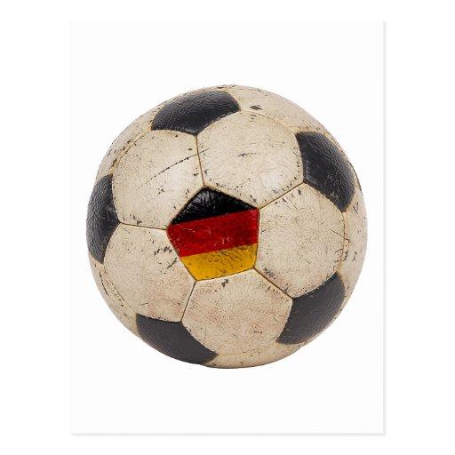 Fútbol de Alemania Postales