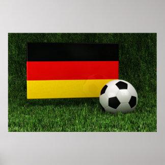 Fútbol de Alemania Póster