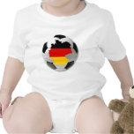 Fútbol de Alemania Trajes De Bebé
