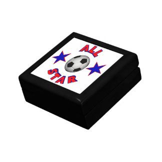 Fútbol de All Star Caja De Recuerdo