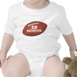 Fútbol de Amer camisa del bebé de 12 meses para la