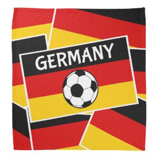 Fútbol de bandera alemán bandanas