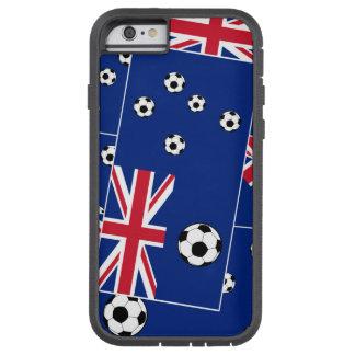 Fútbol de bandera australiano funda para  iPhone 6 tough xtreme