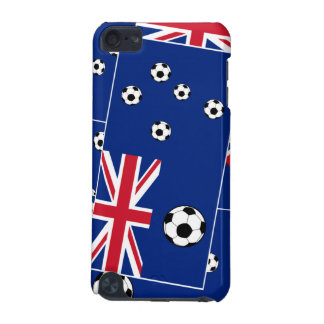 Fútbol de bandera australiano funda para iPod touch 5G