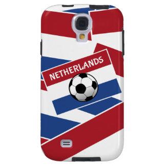 Fútbol de bandera holandés funda para galaxy s4