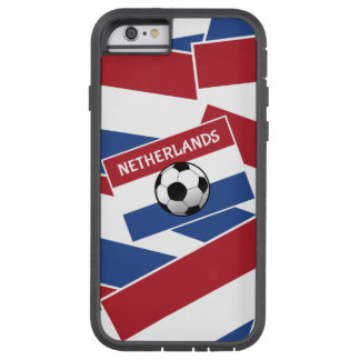 Fútbol de bandera holandés funda para  iPhone 6 tough xtreme
