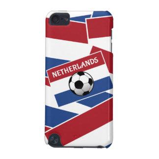 Fútbol de bandera holandés funda para iPod touch 5G