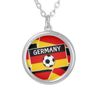 Fútbol de bandera tricolor alemán joyerías