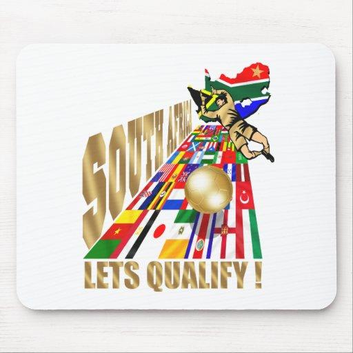 Fútbol de calificación del fútbol de Suráfrica Tapete De Raton