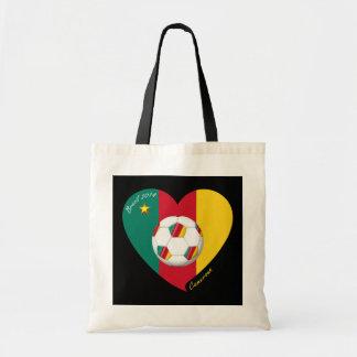 Fútbol de Camerún Soccer CAMEROUN FOOTBALL Team Bolsas