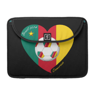 "Fútbol de Camerún, Soccer ""CAMEROUN"" FOOTBALL Team Funda Macbook Pro"