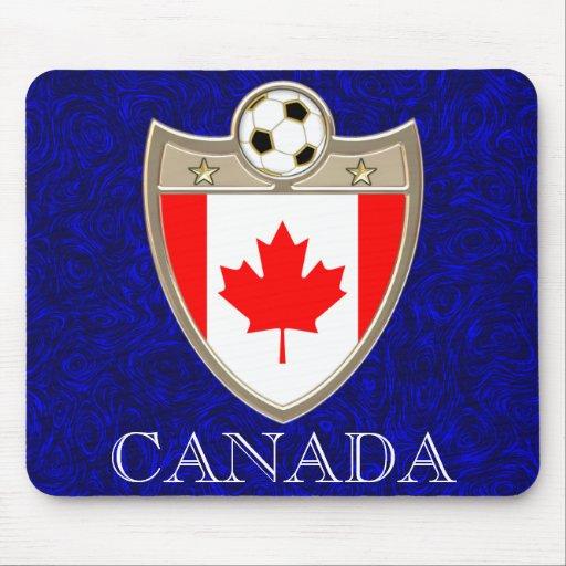 Fútbol de Canadá Alfombrilla De Ratón