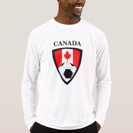 Fútbol de Canadá Playera