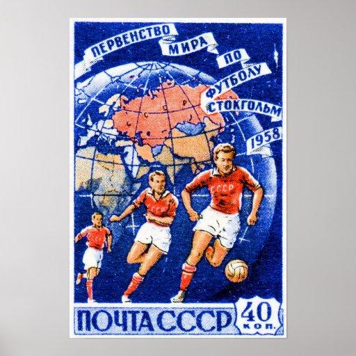 Fútbol de CCCP Poster