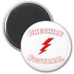 Fútbol de Cheshire Imán Para Frigorífico