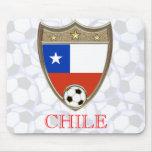 Fútbol de Chile Alfombrillas De Raton