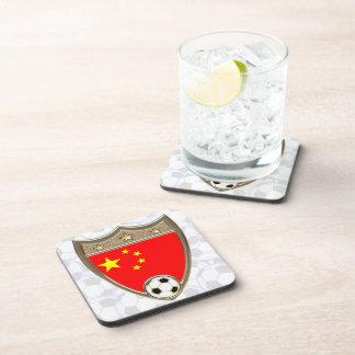 Fútbol de China Posavasos