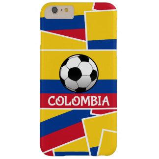 Fútbol de Colombia Funda De iPhone 6 Plus Barely There