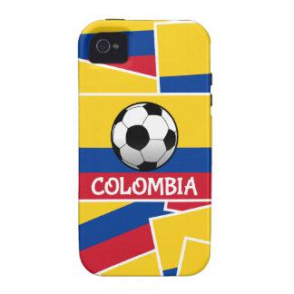 Fútbol de Colombia iPhone 4/4S Funda