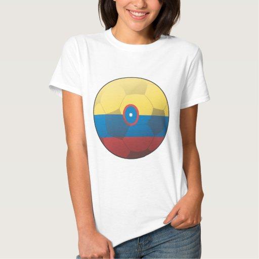 Fútbol de Colombia Tee Shirts