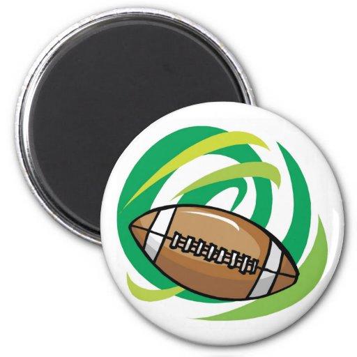 Fútbol de Colorfull Imán Para Frigorifico