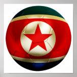 Fútbol de Corea DPR Impresiones