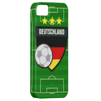 Fútbol de Deutschland Alemania iPhone 5 Funda