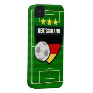 Fútbol de Deutschland Alemania iPhone 4 Protectores