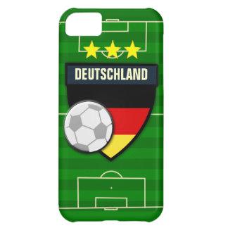 Fútbol de Deutschland Alemania Funda Para iPhone 5C