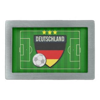 Fútbol de Deutschland Alemania Hebilla De Cinturon