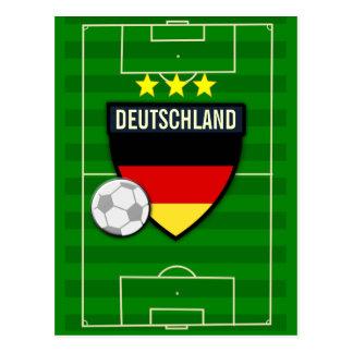 Fútbol de Deutschland Alemania Postales