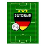 Fútbol de Deutschland Alemania Tarjetas Postales