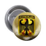 Fútbol de Deutschland Pin