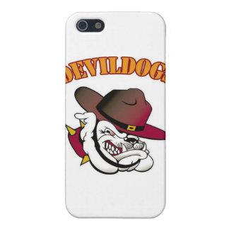 Fútbol de Devildogs iPhone 5 Carcasa