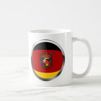 Fútbol de Eagle Alemania Fussball Deutschland Taza Básica Blanca