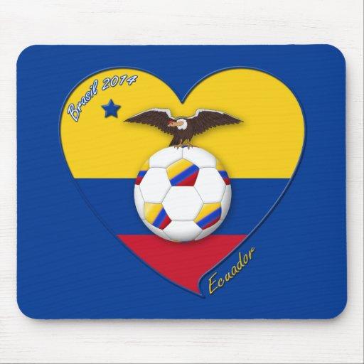 Fútbol de ECUADOR. Ecuadorian National Team Soccer Tapete De Ratones