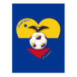 Fútbol de ECUADOR. Ecuadorian National Team Soccer Tarjetas Postales