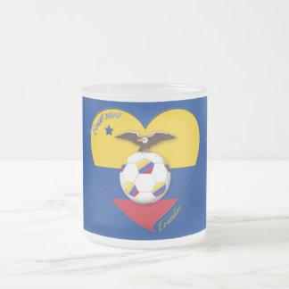 Fútbol de ECUADOR. Ecuadorian National Team Soccer Taza De Cristal